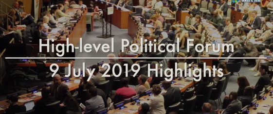 I video dell'High Level Political Forum 2019